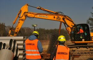 excavator, building, heavy